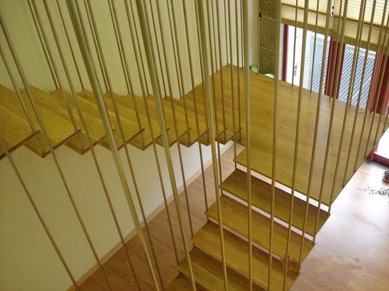 Blog de las escaleras sobre las escaleras su for Escaleras de madera de dos tramos