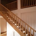 Escalera con zancas anchas - Pesquer