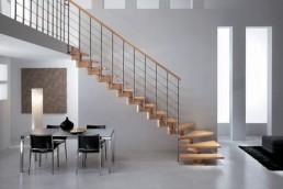 Calidad de una escalera de madera