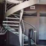 Escalera Helicoidal de metal
