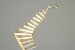 ¿Cómo hacer una escalera de madera?
