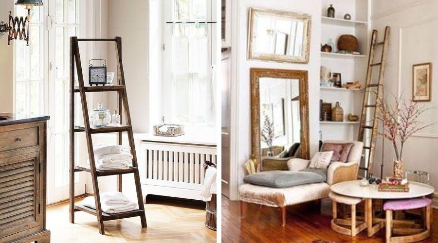 escaleras de madera decorativas