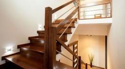 apostar por escaleras de madera