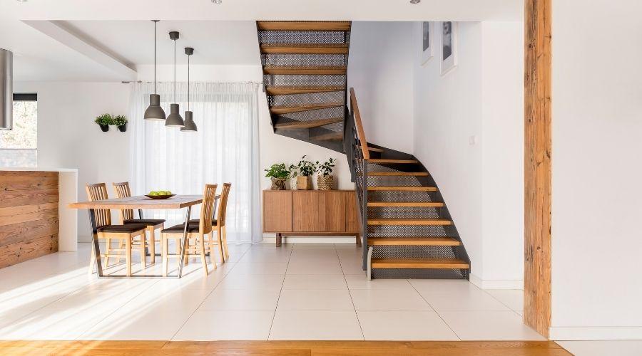 fabricante de escaleras de madera